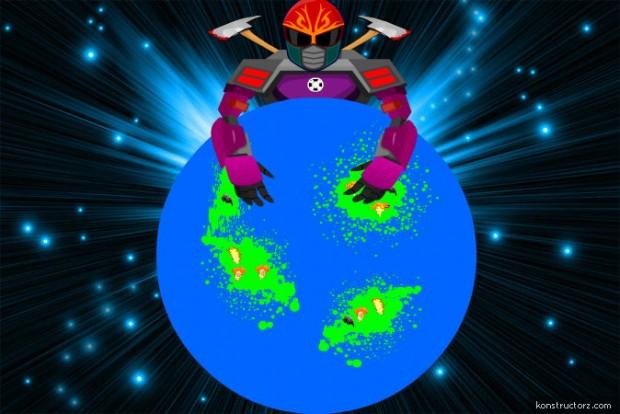 It is a cosmic war begins