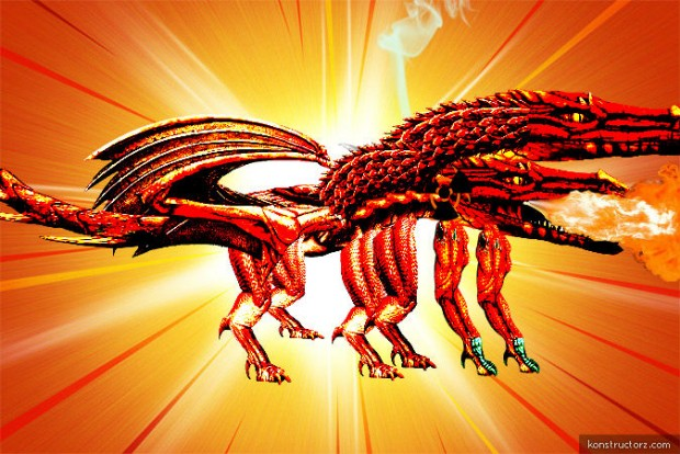 The WHATTTTT dragon