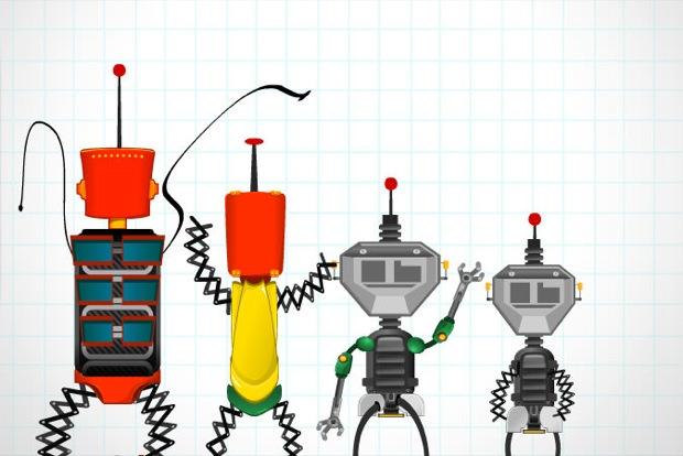 my robot family
