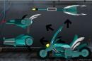 Motor cycle rwby weapon V